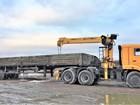 Уникальное фотографию Транспортные грузоперевозки Длинномер с краном-манипулятором КамАЗ 69915626 в Уфе