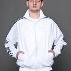 Спортивный костюм КС мужской белый с синим
