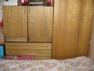 Спальный гарнитур Продается спальный гарнитур:шкаф, антресоль, две кровати , две