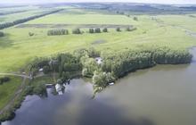 База отдыха на берегу пруда в 70 км от Уфы