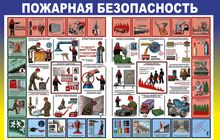 Стенд Противопожарный инструктаж (480А-06)