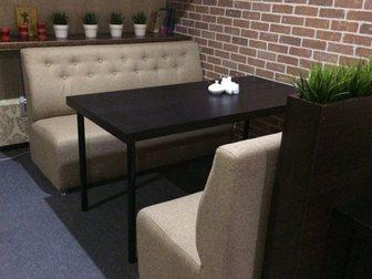 Свежее фото  Мягкая мебель для кафе, ресторанов, офисов, кальянных на заказ 32481112 в Уфе