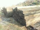 Изображение в Строительство и ремонт Разное Шпалы деревянные б. у. оптом от 250 штук. в Угличе 10