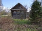 Скачать бесплатно изображение  Бревенчатый дом требующий ремонта, в тихой деревне с хорошим подъездом, 39186364 в Угличе