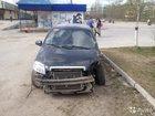 Фото в Авто Аварийные авто Chevrolet Aveo чёрный седан, 2009 г. , пробег в Ухте 80000