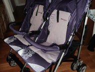 Коляска для двойни совершенно новая коляска для двойняшек