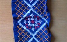 Старинные гуцульские вышивки крестом