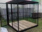 Уникальное фотографию  Вольеры для собак разборные и сварные 45058044 в Набережных Челнах