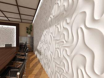 Уникальное изображение  3D стеновые панели, 3D панно, 3D блоки от фабрики отделочных материалов TRIMIC 37215409 в Москве