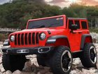 Электромобиль Jeep Wrangler новая модель