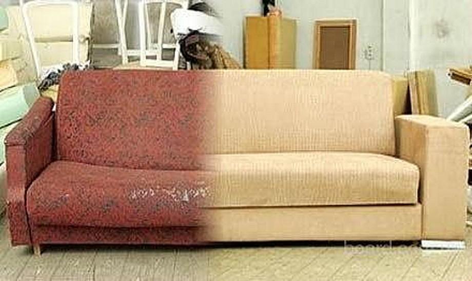 Реставрация мягкой мебели своими руками фото до