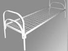 Просмотреть foto  Кровати металлические с ДСП спинками, кровати одноярусные и двухъярусные, кровати оптом 37136039 в Махачкале