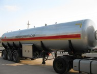 Газовоз полуприцеп цистерна 55 м3 Технические характеристики:  Вместимость геоме