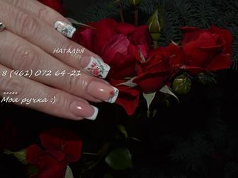 Уникальное foto  Наращивание ногтей,ресниц,парикмахер,маникюр гель лак,шеллак акция, скидки! 38439766 в Волгограде