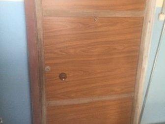 Дверь металическая 1,17 на 2,20 с коробкой размер по внешней стороне , Дверь отделана ламинировыным два ,  Тяжёлая в Волгограде