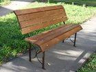 Смотреть фото Разное Скамейки садовые, парковые из дерева 34604251 в Вологде