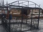 Увидеть фото Строительные материалы Каркас беседки, 34945356 в Вологде