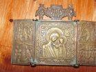Фото в Хобби и увлечения Антиквариат старинная дорожная икона с образом Божьей в Волжском 14000