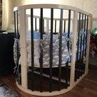 Круглая кровать 8 в 1