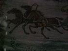 Фотография в   Ковер Тройка лошадей и волки, винтаж, шерсть в Воронеже 8500