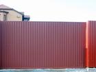 Скачать фотографию Строительные материалы Откатные автоматические ворота, 39686910 в Воронеже