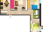 Продается 3х комнатная квартира в ЖК Челюскинцев 101 по улиц