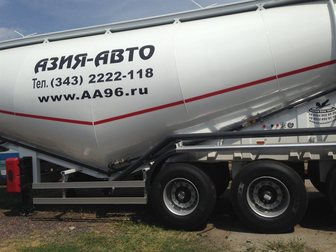 Новое изображение Спецтехника Полуприцеп цементовоз 34 м3 34045328 в Ростове-на-Дону