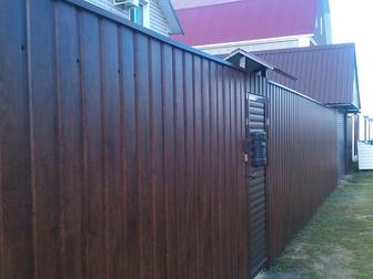 Свежее foto  Навесы, заборы, ворота,лестницы, 62805757 в Воронеже