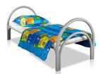 Скачать бесплатно фото  Железные армейские кровати, одноярусные металлические для больниц, бытовок, общежитий, интернатов, школ, От производителя, 37016323 в Махачкале