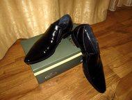 Туфли, кожа Туфли мужские, натуральная кожа, размер 43, б/у один день, состояние