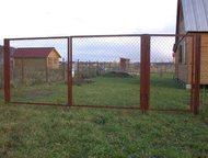 продаем садовые ворота и калитки с производства с доставкой Каркас ворот сварен